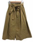 45R(フォーティファイブアール)の古着「オーガニックコットンスカート」|ベージュ