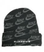 SUPREME×NIKE(シュプリーム×ナイキ)の古着「ニット帽」|グリーン