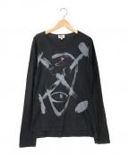 Vivienne Westwood man(ヴィヴィアン ウェストウッド マン)の古着「長袖カットソー」|ブラック