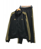 adidas×24karats(アディダス×24カラッズ)の古着「セットアップジャージ」|ブラック