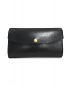 amiacalva(アミアカルヴァ)の古着「長財布」 ブラック