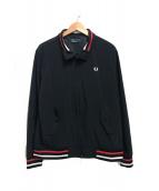 FRED PERRY(フレッドペリー)の古着「ジップジャケット」 ブラック
