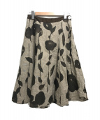 PALLAS PALACE(パラスパレス)の古着「リネンスカート」|ブラウン