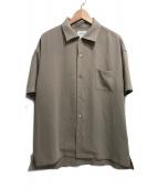 UNITED TOKYO(ユナイテッドトーキョー)の古着「オープンカラーシャツ」|ベージュ