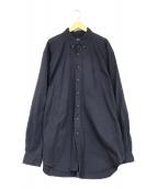 ()の古着「オ-バーサイズシャツ」|ネイビー