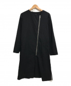 ARTISAN(アルチザン)の古着「ミニマル羽織ジャケット」 ブラック