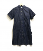 FWk Engineered Garments(エフダブリューケーエンジニアードガーメンツ)の古着「シャツワンピース」|インディゴ