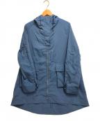 comme ca(コムサ)の古着「アノラック風パーカコート」 ブルー