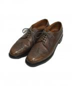 Alden()の古着「ウィングチップブーツ」|ブラウン