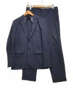 EDIFICE(エディフィス)の古着「セットアップスーツ」 ネイビー