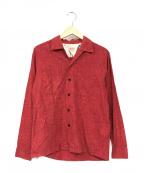 STYLE EYES(スタイルアイズ)の古着「オープンカラーシャツ」|レッド