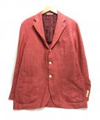 DEPETRILLO(デペトリロ)の古着「3Bジャケット」|レッド