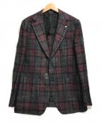 TAGLIATORE()の古着「2Bジャケット」|レッド