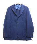 Brilla per il gusto(ブリッラ ペル イルグースト)の古着「カシミヤ3Bジャケット」|ネイビー