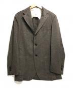 Brilla per il gusto(ブリッラ ペル イルグースト)の古着「カシミヤ3Bジャケット」|ブラウン