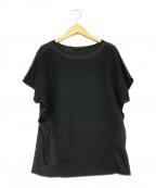 ARTISAN(アルチザン)の古着「からみメッシュ Tシャツ」 ブラック