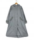 GALLARDA GALANTE(ガリャルダガランテ)の古着「フーデッドコート」 スカイブルー