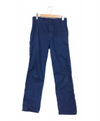 ()の古着「フレンチワークパンツ」|ブルー