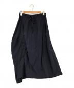 Y's(ワイズ)の古着「デザインギャザースカート」 ネイビー