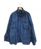 ALPHA(アルファ)の古着「後染めM65ジャケット」|ネイビー