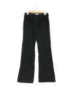 ()の古着「ブラックニムパンツ」 ブラック