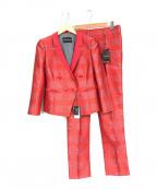 EMPORIO ARMANI EA7(エンポリオアルマーニ イーエーセブン)の古着「セットアップスーツ」|レッド