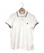 MONCLER(モンクレール)の古着「ポロシャツ」|ホワイト