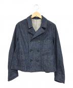 45R(フォーティファイブアール)の古着「おこめデニムのプチカバーオール」|インディゴ