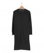 Gabardine K.T(ギャバシンケーティー)の古着「ニットカーディガン」|ブラック