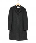 HARRIS WHARF LONDON(ハリスワーフロンドン)の古着「メルトンコート」 グレー