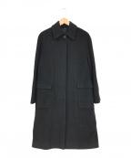 EPOCA(エポカ)の古着「ステンカラーコート」|ブラック