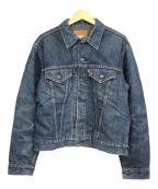 LEVI'S(リーバイス)の古着「ブランケット付デニムジャケット」|インディゴ