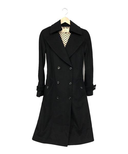 DES PRES(デプレ)DES PRES (デプレ) カシミヤコート ブラック サイズ:1の古着・服飾アイテム