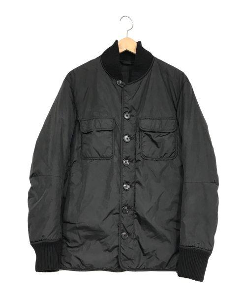 PRADA(プラダ)PRADA (プラダ) 中綿ジャケット ブラック サイズ:46の古着・服飾アイテム