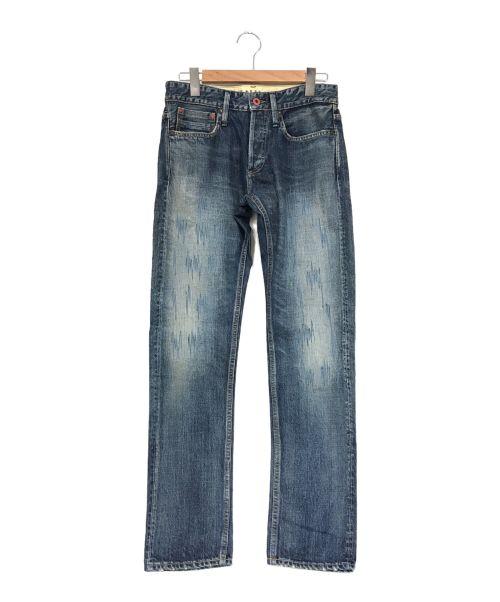 Denham(デンハム)Denham (デンハム) ボタンフライデニムパンツ インディゴ サイズ:W30-L32の古着・服飾アイテム