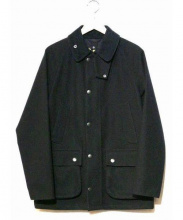 Barbour(バブアー)の古着「BEDALE SL BONDED WOOL」|ブラック
