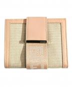 FENDI(フェンディ)の古着「2つ折り財布」 ピンク