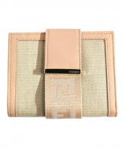 FENDI(フェンディ)の古着「2つ折り財布」|ピンク