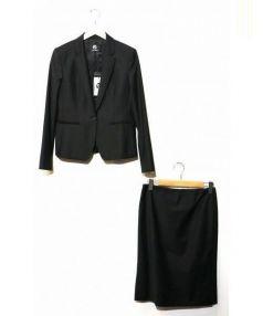 PS Paul Smith(ピーエス ポールスミス)の古着「セットアップスーツスカート」 ブラック