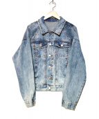 mnml(ミニマル)の古着「デニムジャケット」|ブルー
