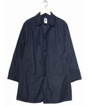 CORONA(コロナ)の古着「UP DUSTER COAT」 ネイビー