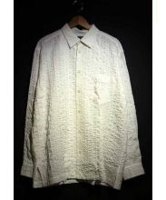 ISSEY MIYAKE MEN(イッセイ ミヤケ メン)の古着「縮絨シャツ」|ホワイト