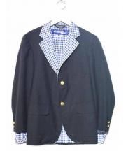 JUNYA WATANABE COMME des GARCONS MAN(ジュンヤワタナベ コムデギャルソン マン)の古着「切替ジャケット」|ネイビー