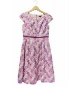 TOCCA(トッカ)の古着「COSMOSドレスワンピース」|ピンク