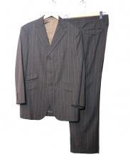 BURBERRY LONDON(バーバリーロンドン)の古着「3Bストライプセットアップスーツ」|グレー