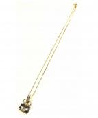 HERMES(エルメス)の古着「コンスタンス型モチーフネックレス」 シルバー