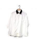 YohjiYamamoto pour homme(ヨウジヤマモトプールオム)の古着「切替レイヤードカラーシャツ」|ホワイト