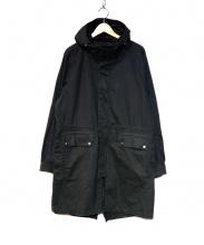 STAMPD(スタンプド)の古着「モッズコート」|ブラック