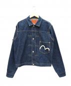 EVISU(エヴィス)の古着「1stデニムジャケット」|インディゴ