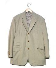 HERMES(エルメス)の古着「モールスキンジャケット」|ベージュ
